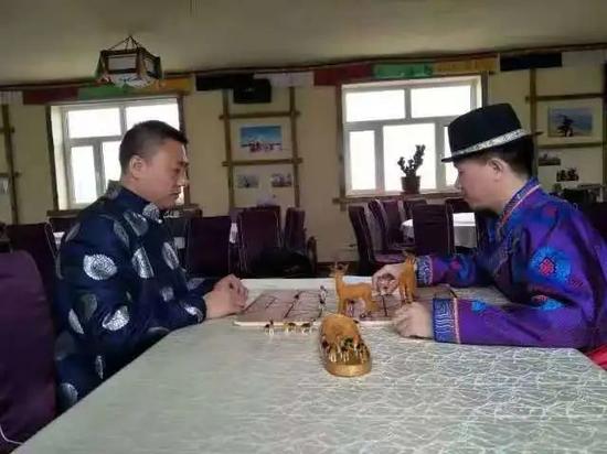 图丨围鹿棋