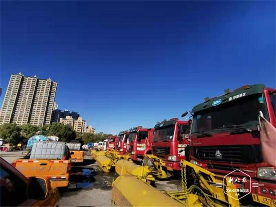 哈市香坊区180余台车辆全面体检提前进入备战状态