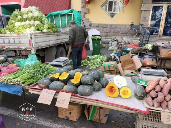 地产菜基本退出市场 哈市蔬菜价格呈季节性上涨