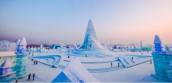 第二十一届哈尔滨冰雪大世界 摄影/徐帅