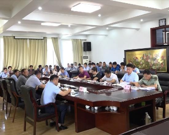 2018年全县脱贫攻坚领导小组第六次会议召开
