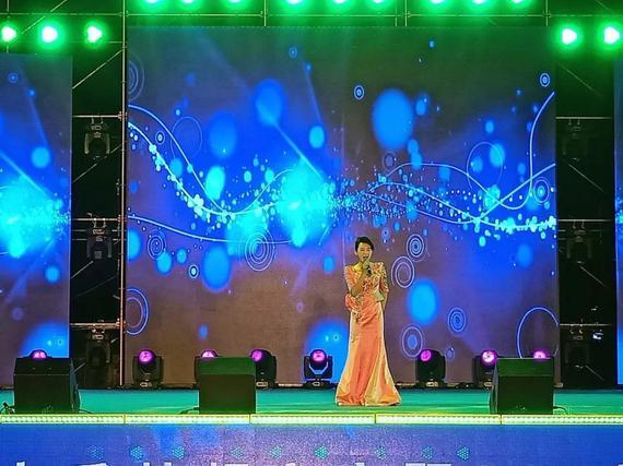 黑龙江省歌舞剧院独唱演员杜雪莹演唱了歌曲《芦花》