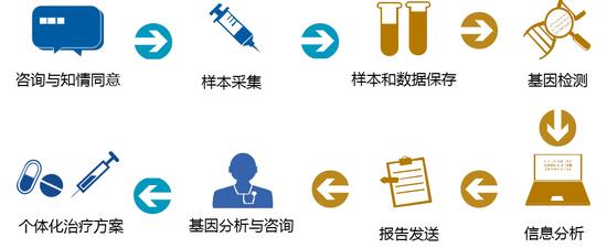 精准医学基因检测流程