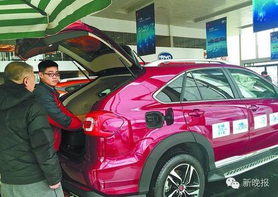 哈市在售的新能源车