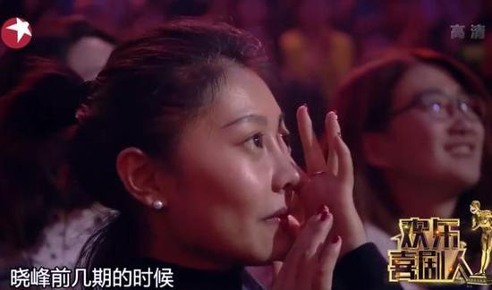 台下流泪的观众