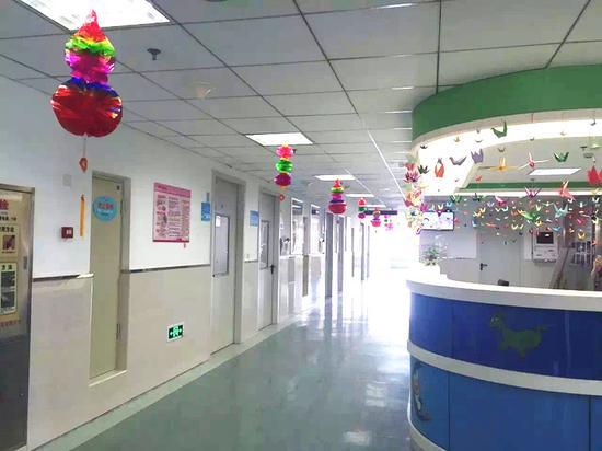 哈尔滨市儿童医院心脏外科开设特色卡通主题病房