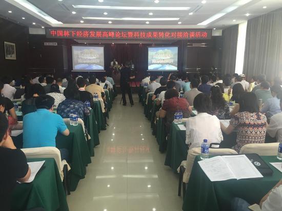 中国林下经济发展高峰论坛在伊春举行