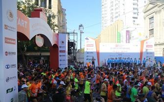 回顾:2016哈尔滨国际马拉松开赛