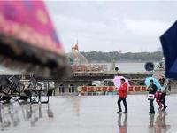 台风狮子山渐弱大风雨结束 哈市气温明起回升