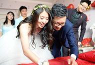 伦敦奥运会冠军焦刘洋大婚