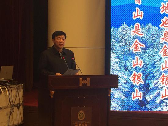 伊春市市长韩库致欢迎词