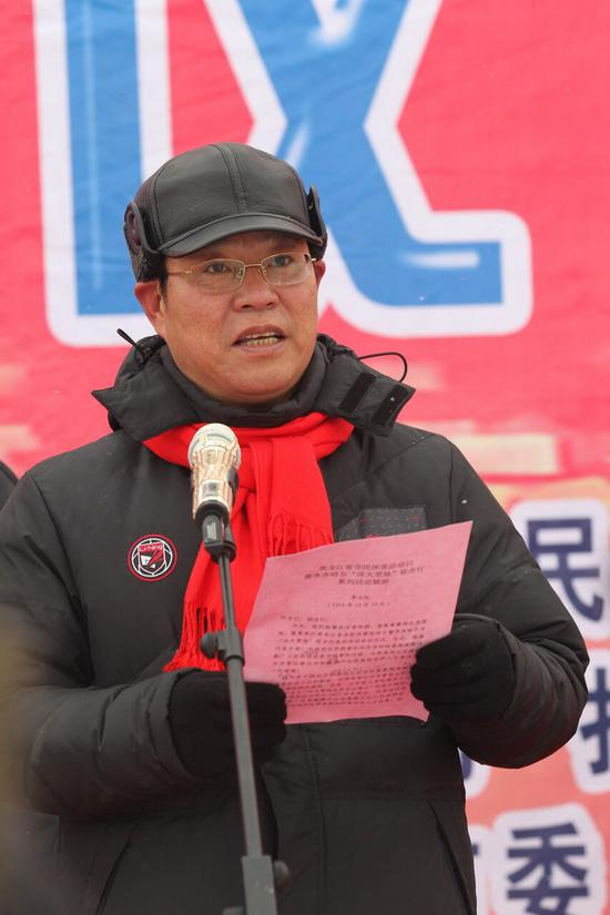 市委副书记、市长李玉刚致辞