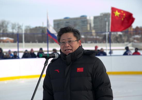 黑龙江省人民政府副省长孙东生致辞