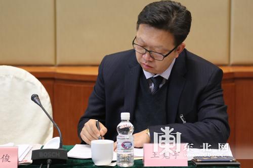 省政协委员王宽宇。东北网记者 许诺 摄