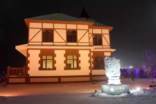 呼兰河口欢乐冰雪世界担任医疗保障作用的天蝎座城堡