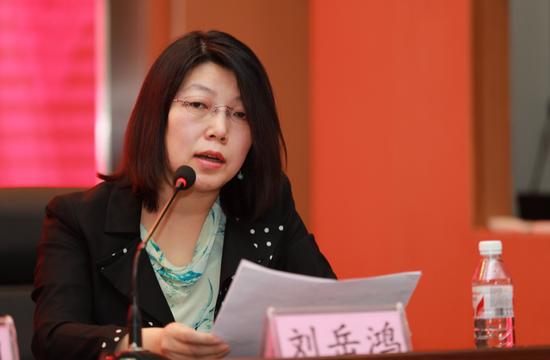 8副院长刘岳鸿对提案进行解读