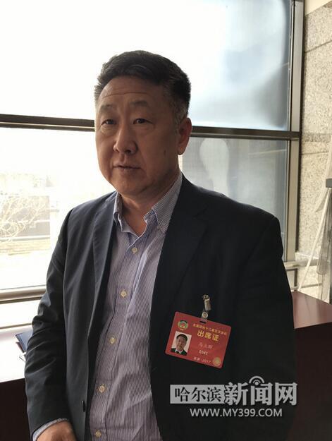 全国政协委员、齐齐哈尔大学校长马立群