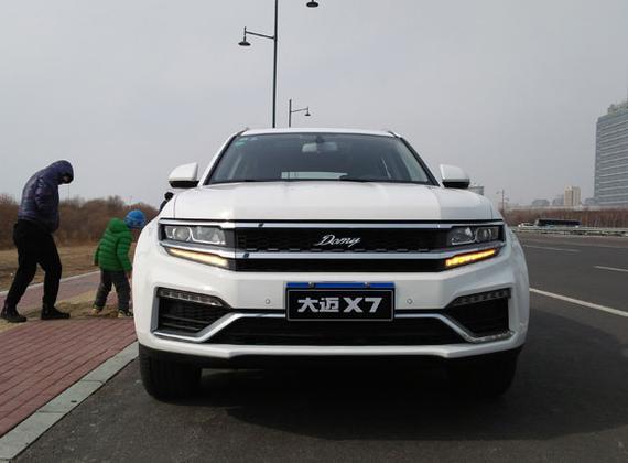 高性能长轴距SUV——大迈X7