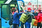 双鸭山市宝山区首批矿区转岗职工赴深圳务工