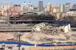 老哈尔滨火车站彻底拆除完毕