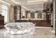 迪拜安装全球最贵浴缸