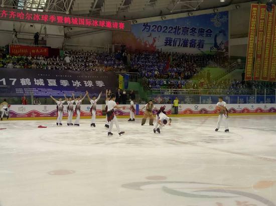 2017中国·齐齐哈尔夏季冰球季鹤城国际冰球邀请赛开幕式