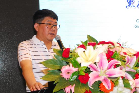 黑龙江省医学会秘书长焦广宇致辞
