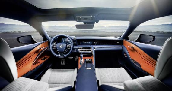 旗舰级豪华GT轿跑全新雷克萨斯LC 500h内室