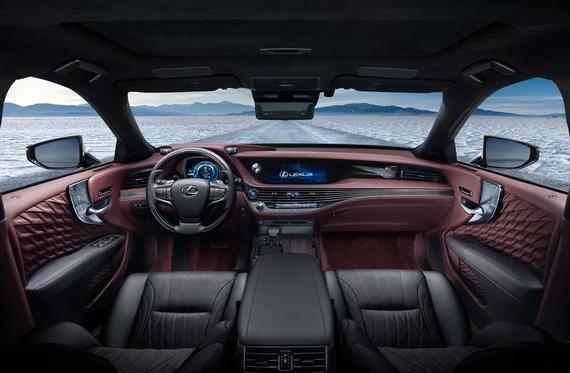 旗舰级豪华轿车全新雷克萨斯LS 500h内室