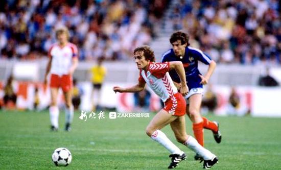 1984年欧洲杯,丹麦队闯进四强