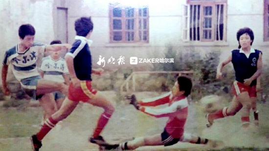 80年代的比赛条件非常艰苦