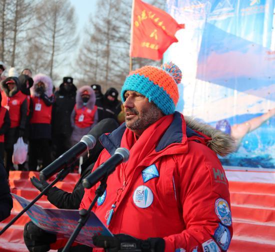 国际冰联主席拉姆·迈尔凯