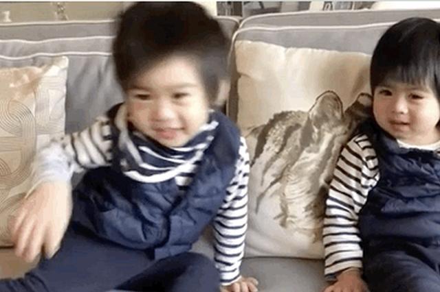 林志颖双胞胎儿子背诗金句频出:一层楼变一千楼