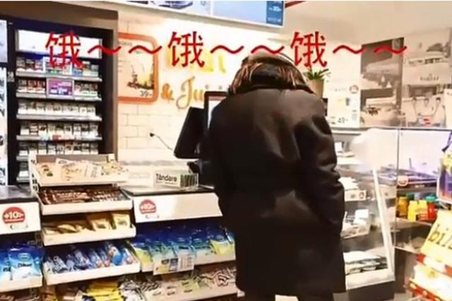 想吃不如跳舞!林志玲现身零食店饿到狂尬舞