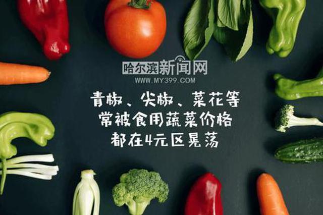 哈尔滨鸡蛋猪肉价格持续走低 油豆角成贵价菜