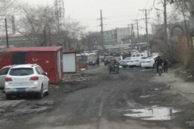 哈市成标街道路泥泞两侧垃圾多事件后续:垃圾清走了