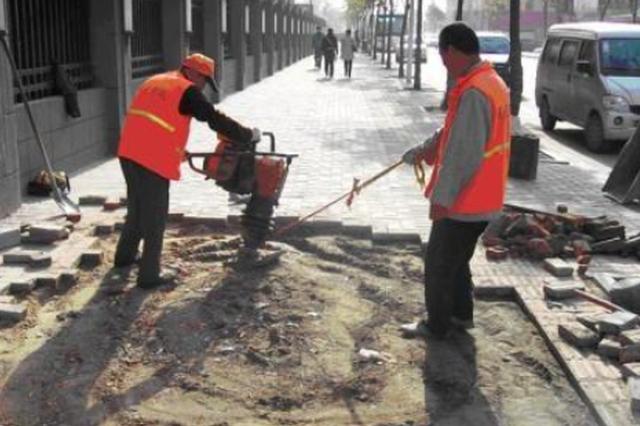 香坊区将维修7.5万平方米人行道 营造良好的出行环境