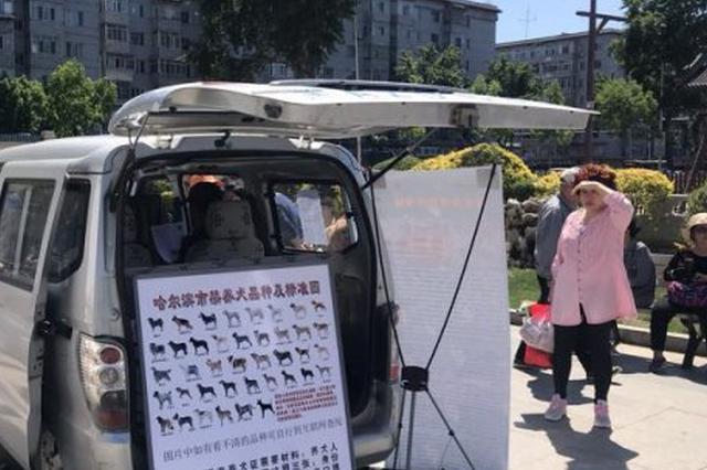 哈尔滨8处犬只办证网点周末也可办证 新增流动办证车