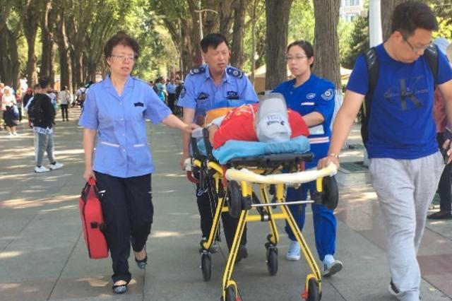 端午前夕 120急救两位心脏病患者和一位晕倒老人