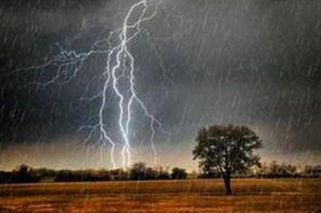 雷雨大风黄色预警 未来6小时哈市局地降水超30mm