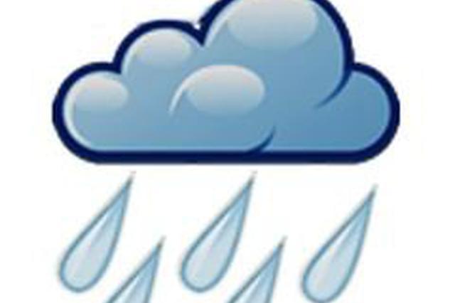 中考生注意避雨 25日哈市或有中到大雨局地或达暴雨