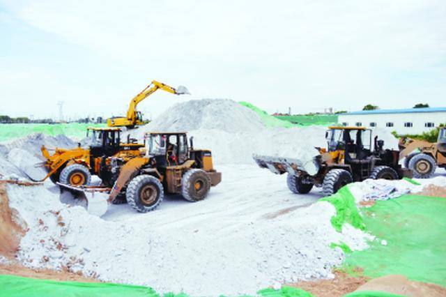 电石渣堆放隐患问题得解 齐市新建永久防渗堆放场