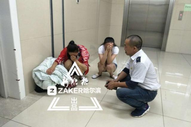 齐市两岁男童电动车跌下脾脏渗血 冰城的哥爱心送医