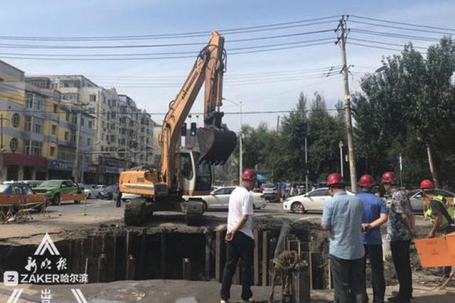 建国街漏点预计11日18时修复 6台送水车不间断供水