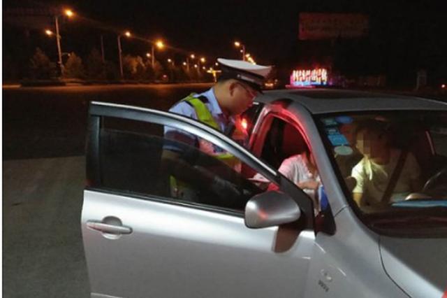 酒后驾车见民警居然要闯卡 省交警抓获两例涉酒驾车