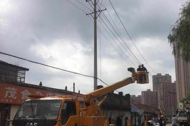 尚志大风雷暴2.1万户用电受影响 连夜抢修预计17时恢复