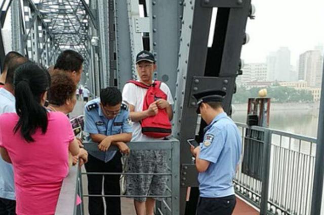 突发!一90后男子凌晨跳下哈尔滨中东铁路桥溺水失踪
