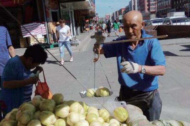 冰城这些有故事的都市出摊人:菜市场里的苦乐人生