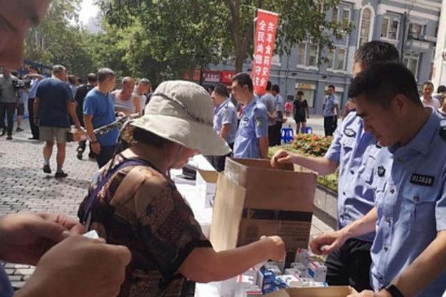 卖假酒贩假药全栽了 龙江警方一年破食品类案件153起