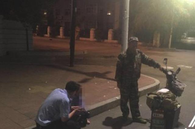 齐齐哈尔男子喝醉大睡 警察来电才知4岁女儿溜达半宿